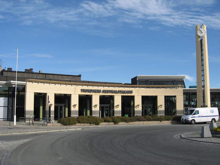 Estación central Trondheim Sentralstasjon