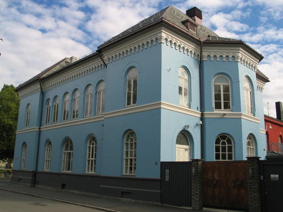Museo y sinagoga en Trondheim