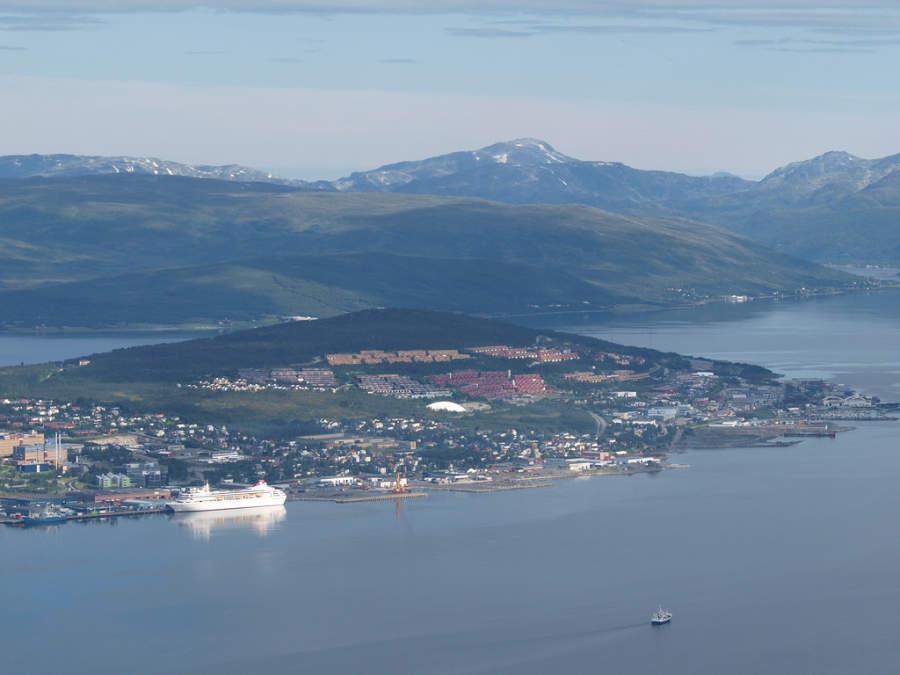Honningsvag es un importante puerto de cruceros
