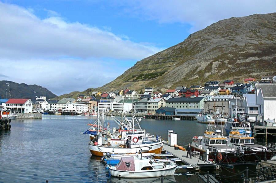 Honningsvag, Finnmark, Noruega