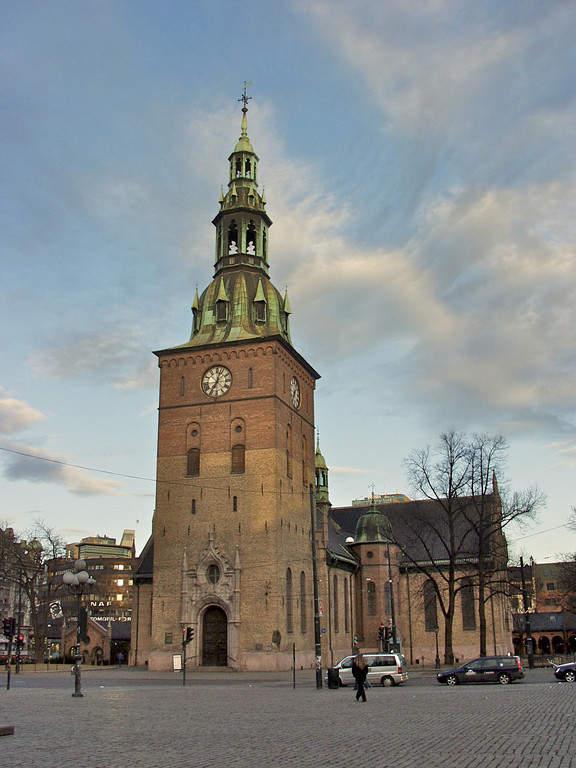 Oslo domkirke, catedral de la ciudad