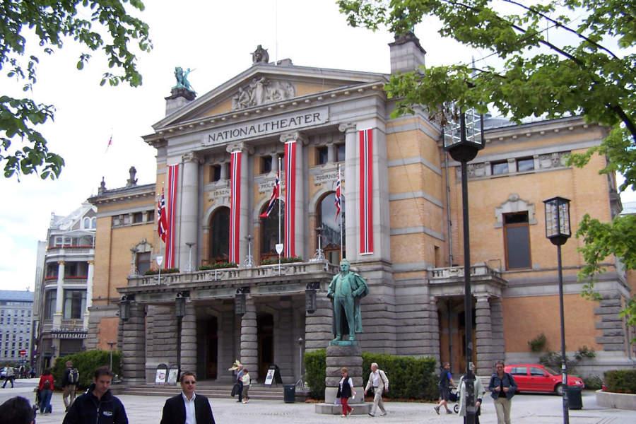 Nationaltheatret, teatro nacional de Noruega