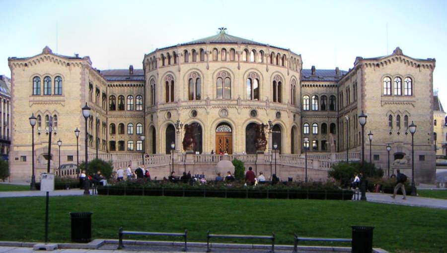 Storting, sede del parlamento de Noruega