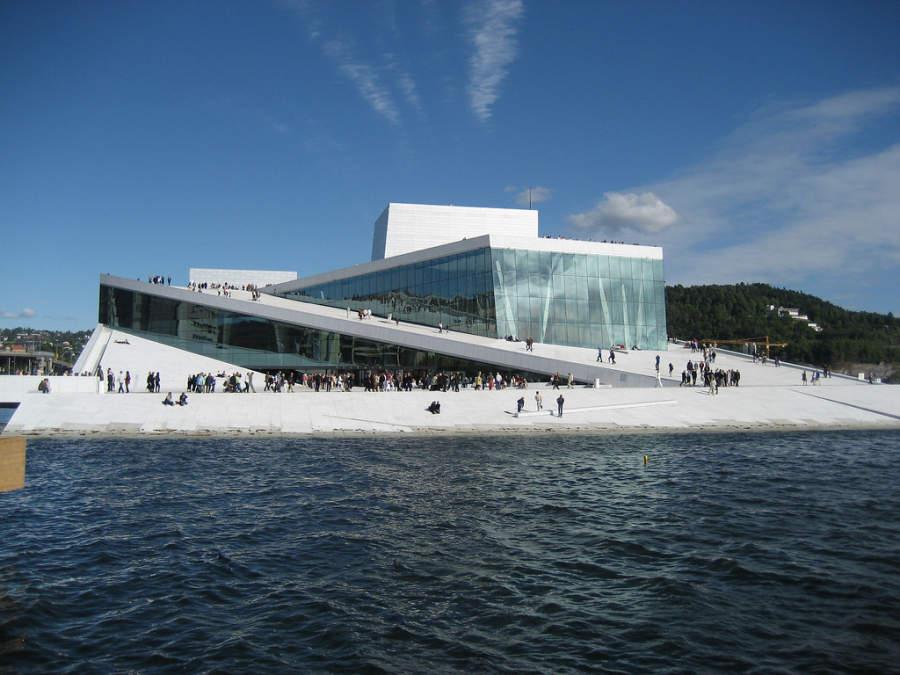 Operahuset, edificio de la ópera en Oslo
