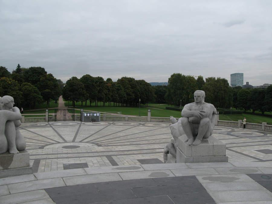 Vigelandsparken, parque con esculturas