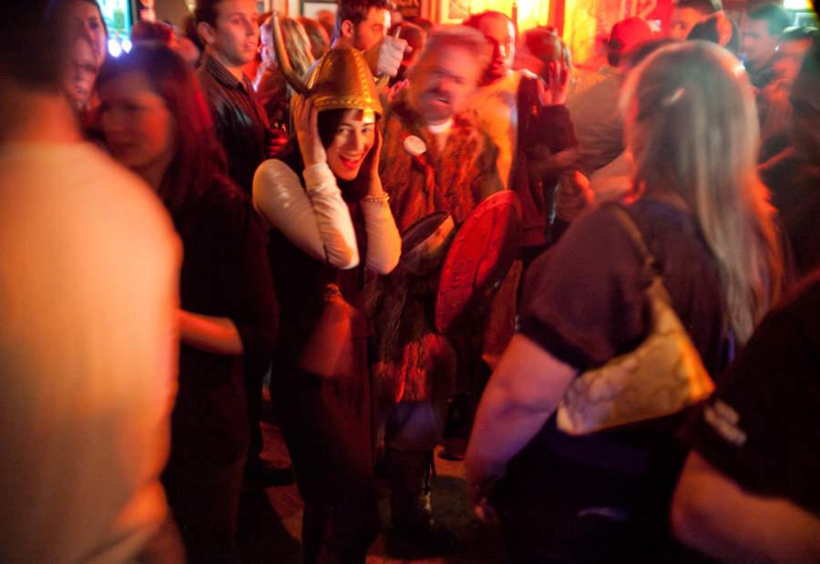 Diversión nocturna en Corner Brook