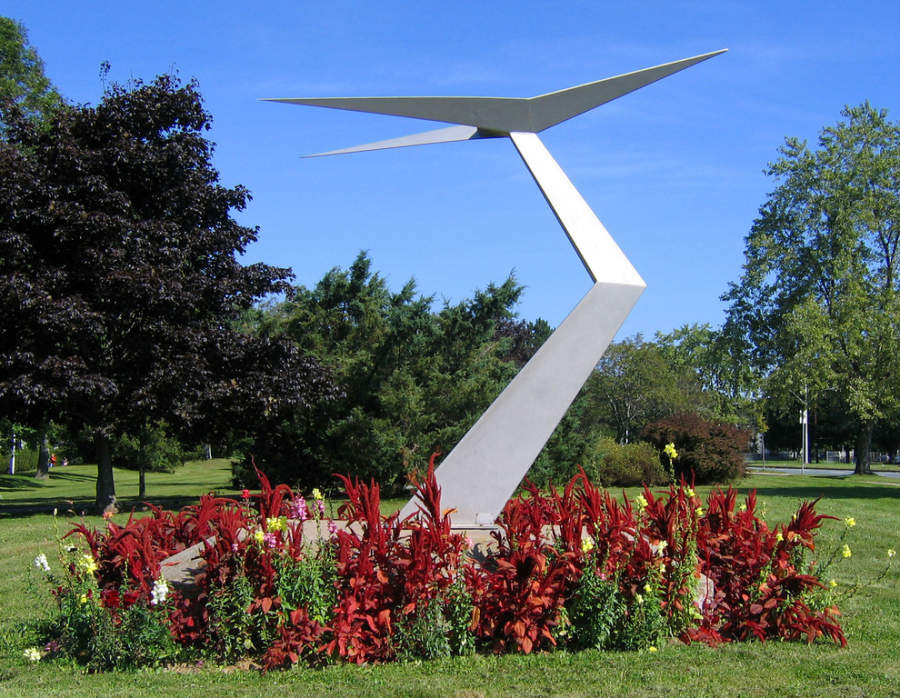 Monumento en Saunders Park en Halifax