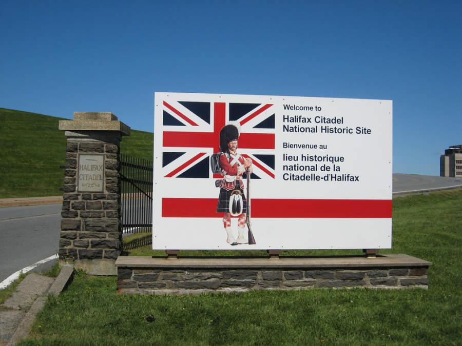 Entrada a Halifax Citadel National Historic Site
