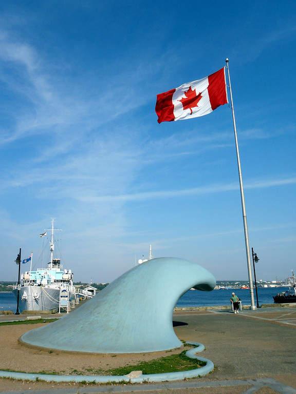 Monumento The Wave en Halifax