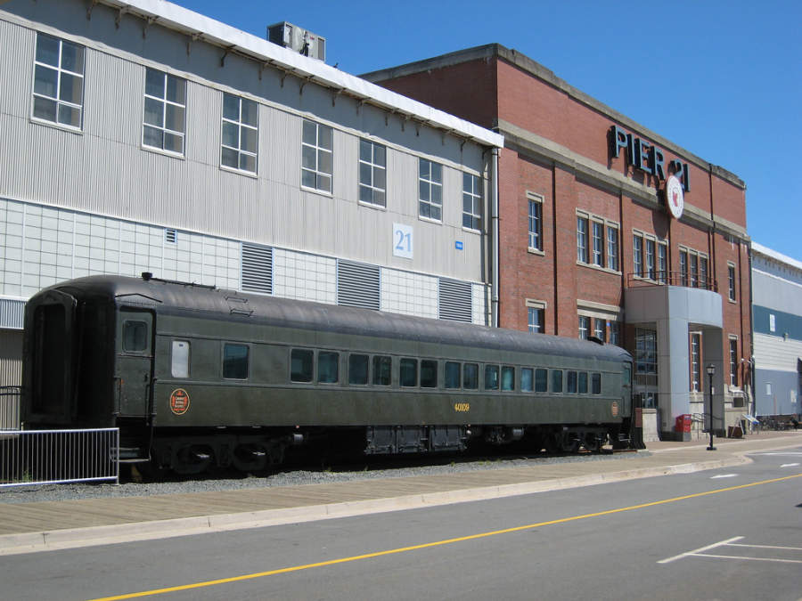 Estación Pier 21 en Halifax