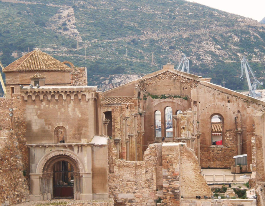 Restos de la Catedral de Cartagena