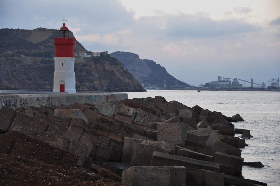 Faro de Navidad en Cartagena