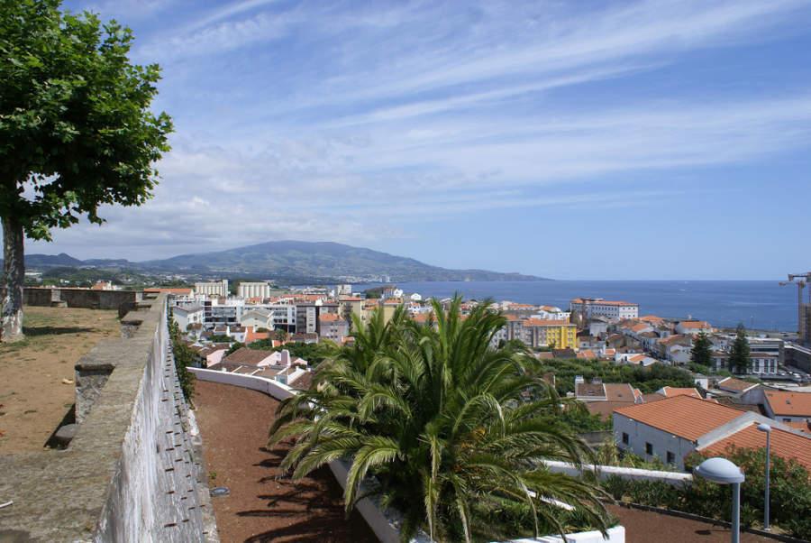 Ponta Delgada en la isla de São Miguel