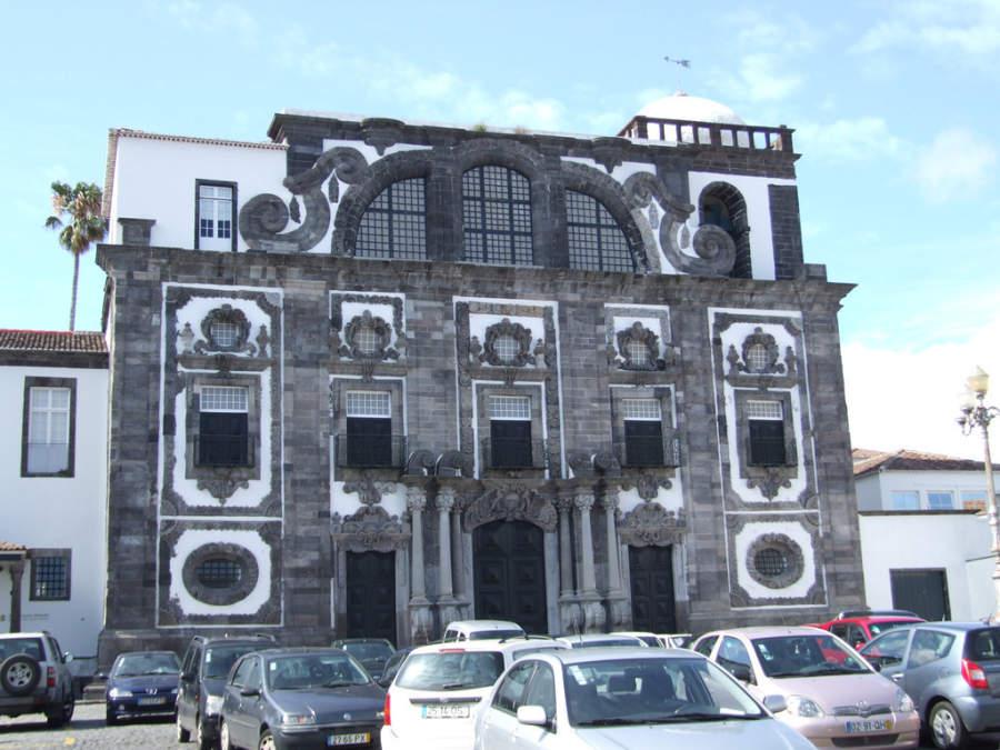 Iglesia en Ponta Delgada