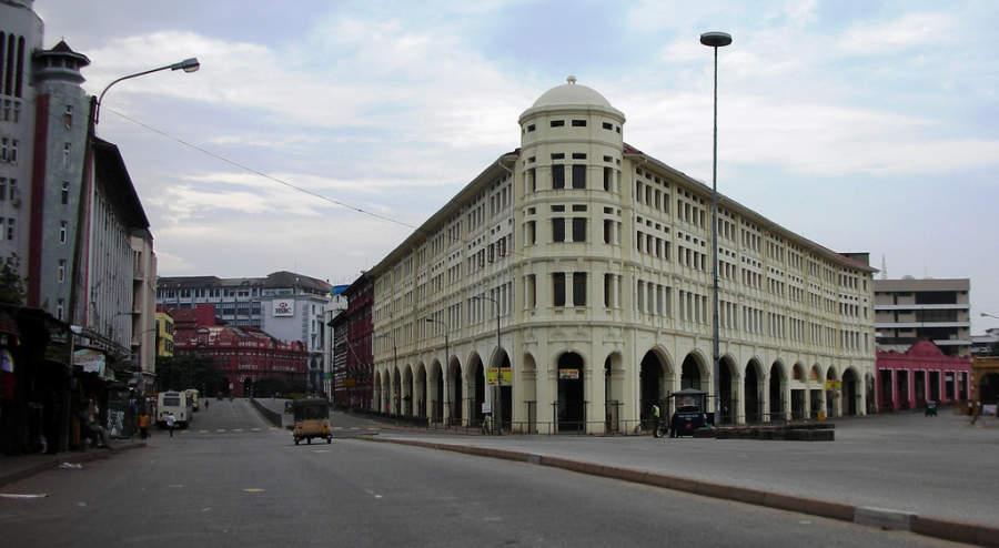Zona comercial de Colombo