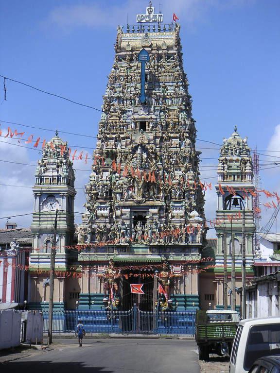 Templo hindú en Colombo