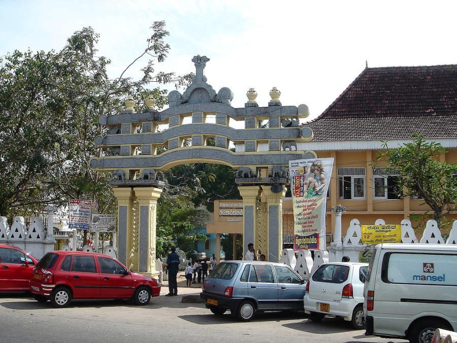 En Colombo hay diversas puertas artísticas