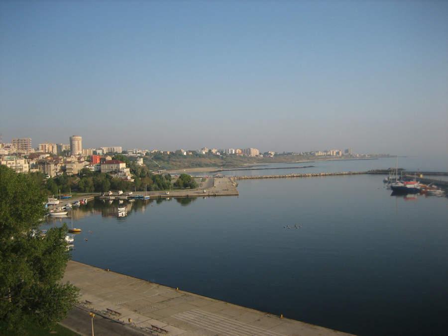 Constanza, el puerto más grande de Rumania en el mar Negro