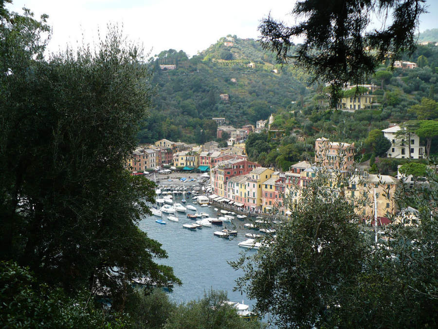 how to travel to portofino italy