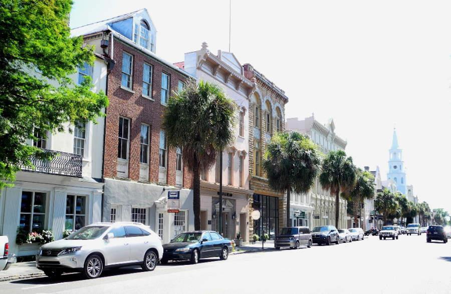 Charleston es una vieja ciudad colonial con gran variedad de museos y lugares históricos