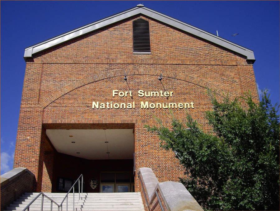Monumento Nacional de la fortaleza Sumter en Charleston
