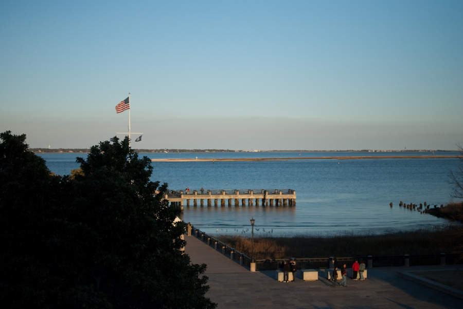 Charleston es conocida como la ciudad santa por sus numerosas iglesias