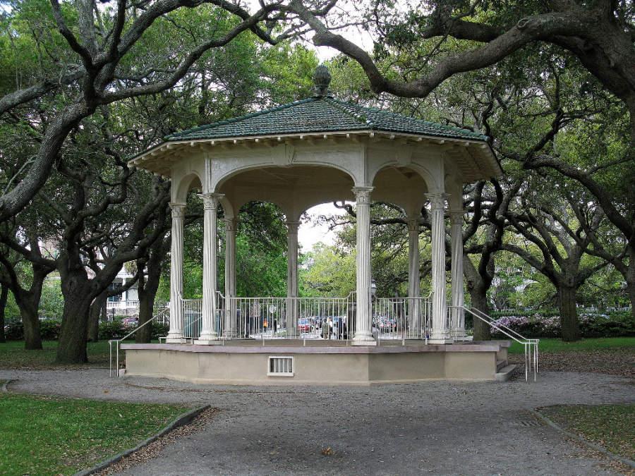 Jardines White Park en Charleston, Carolina del Sur