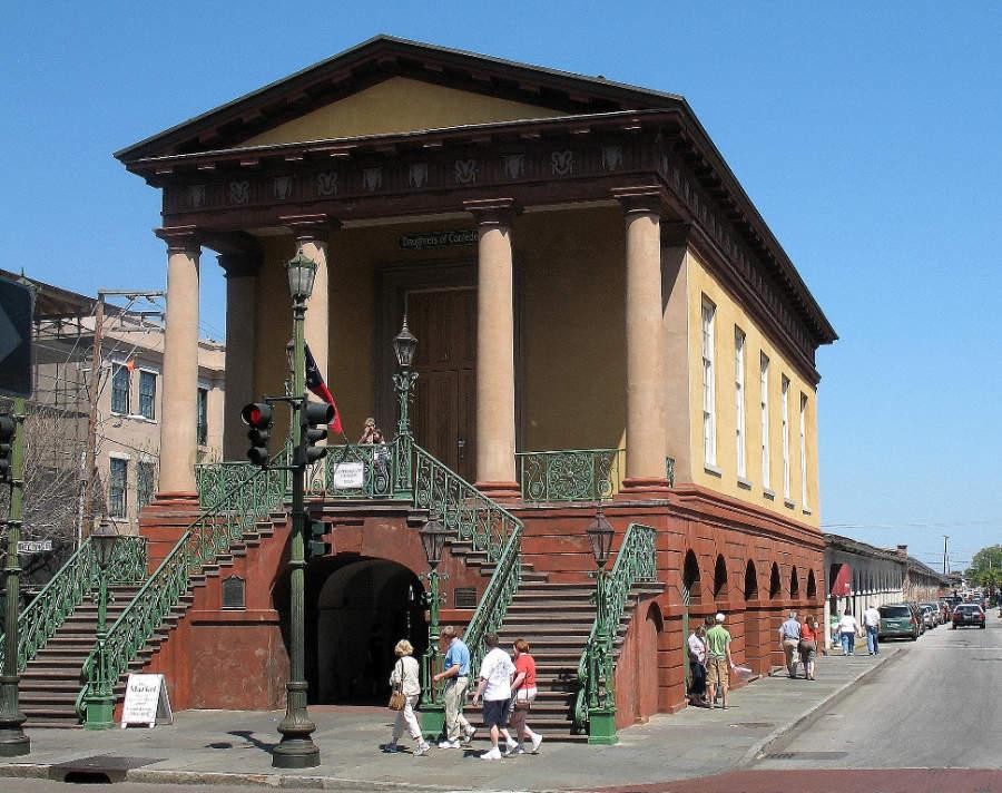 Conoce el mercado de la ciudad de Charleston