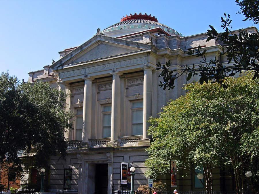 Museo de Arte Gibbes, el primer museo de la ciudad de Charleston