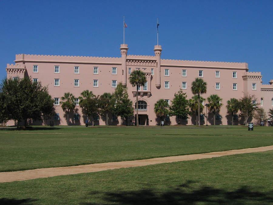 La Ciudadela en Charleston, un Colegio Militar de Carolina del Sur