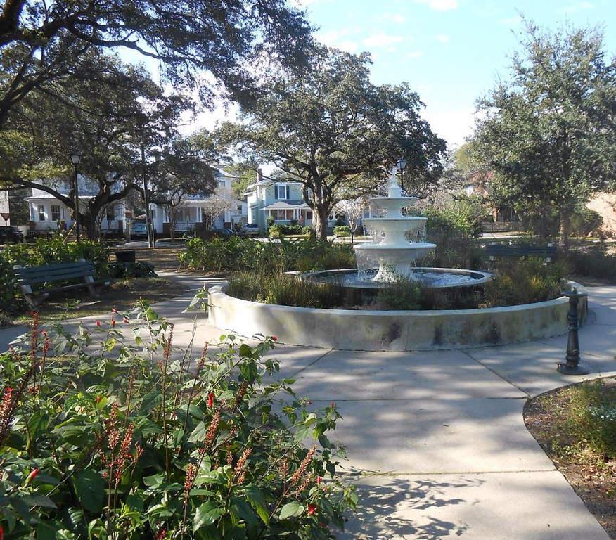 Parque Allan en Charleston, Carolina del Sur