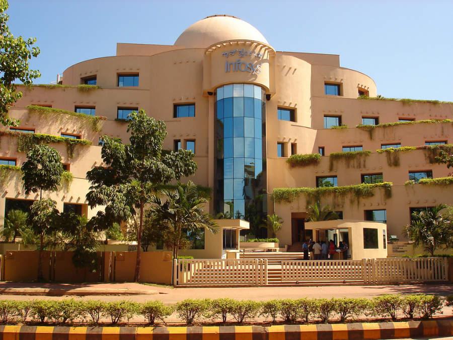 Oficinas de la compañía Infosys en Mangalore