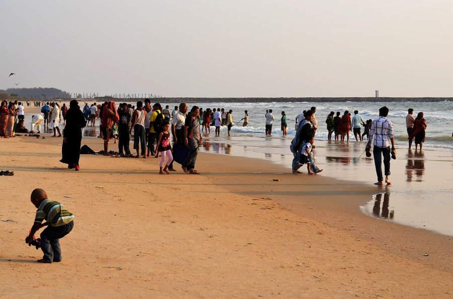 Playa en Panambur, Mangalore