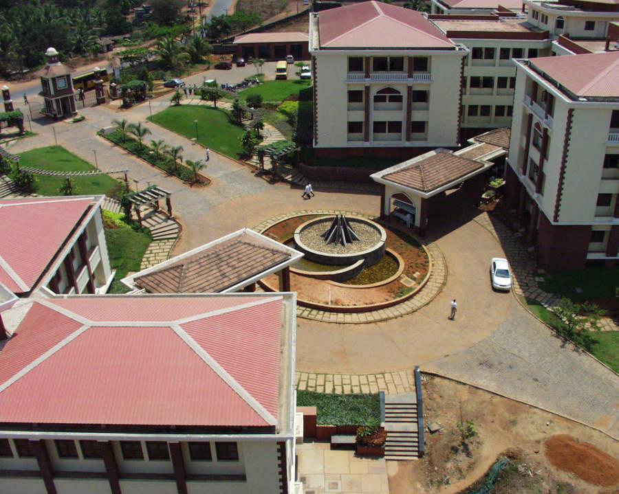 Campus en Mangalore de la Universidad de Yenopeya