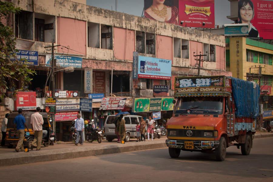 Avenida del centro de Mangalore