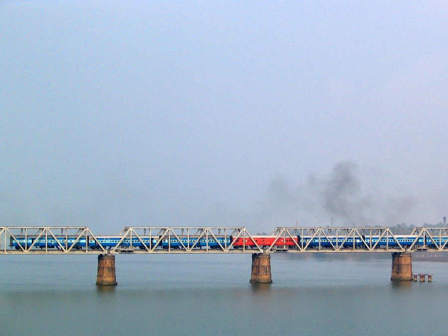 Puente del ferrocarril Netravati