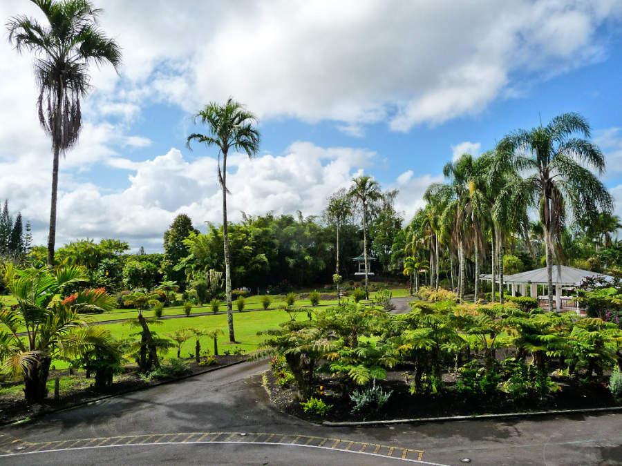 Nani Mau Gardens, jardines a 5 kilómetros de Hilo