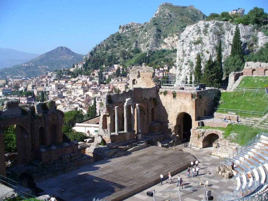 Teatro griego de Taormina