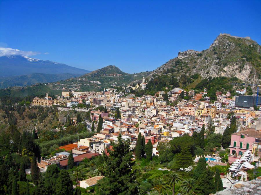 Taormina, Mesina, Italia