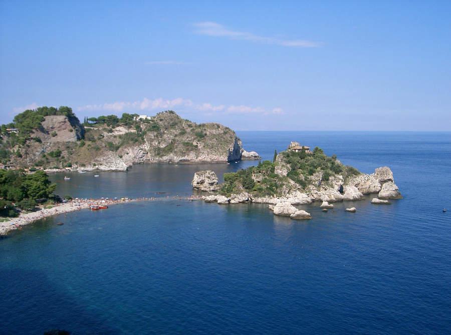 Isola Bella, reserva natural cerca de la ciudad de Taormina
