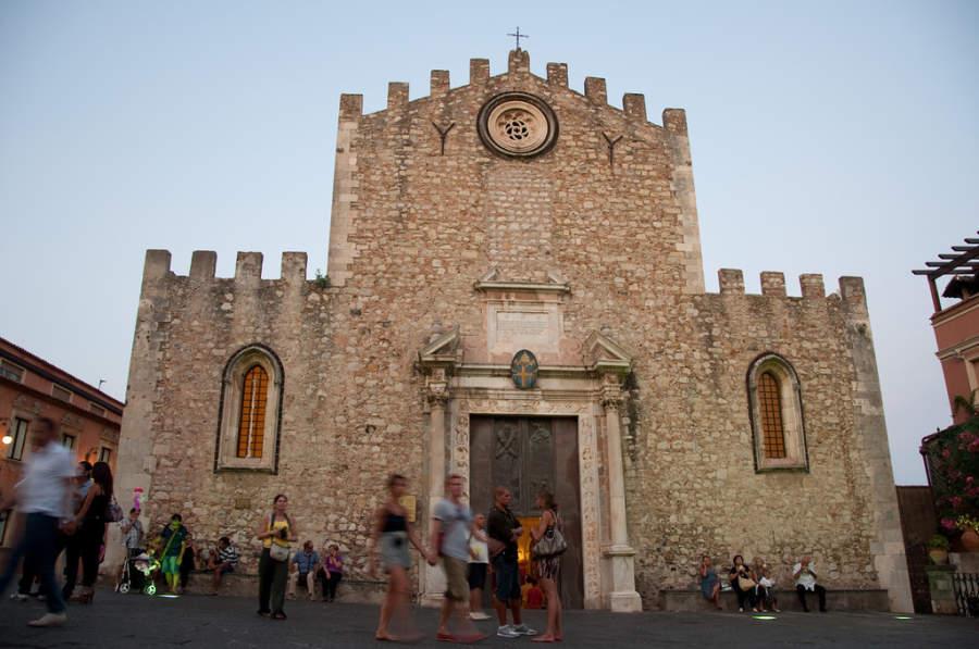 Duomo Santa Catarina, catedral de Taormina