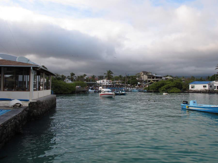 Puerto Ayora está situado en Isla Santa Cruz