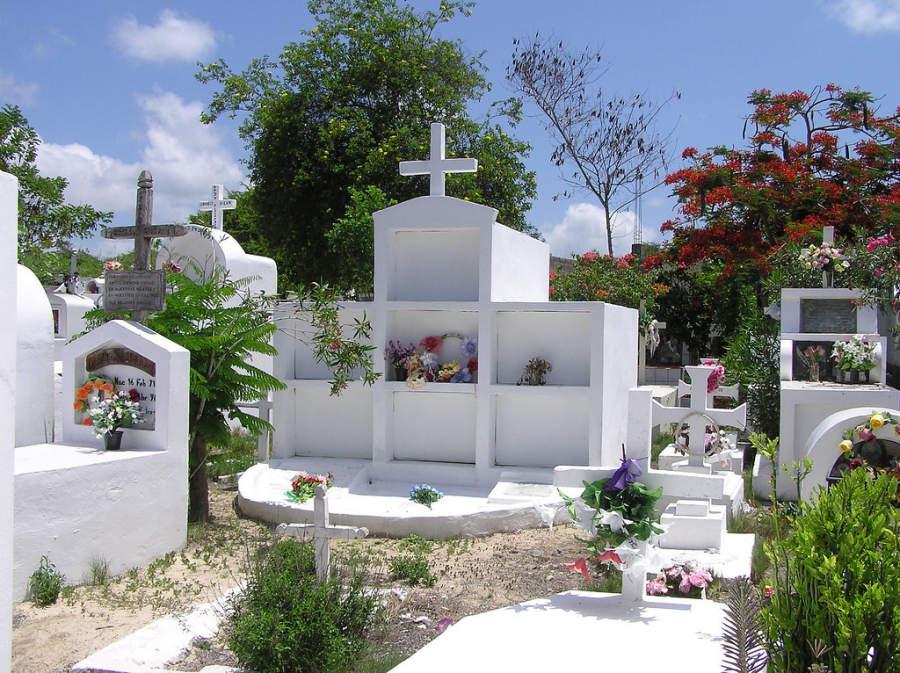 Cementerio en Puerto Ayora