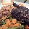 <p>Pollo en jerk</p>,Negril, Jamaica, Jamaica