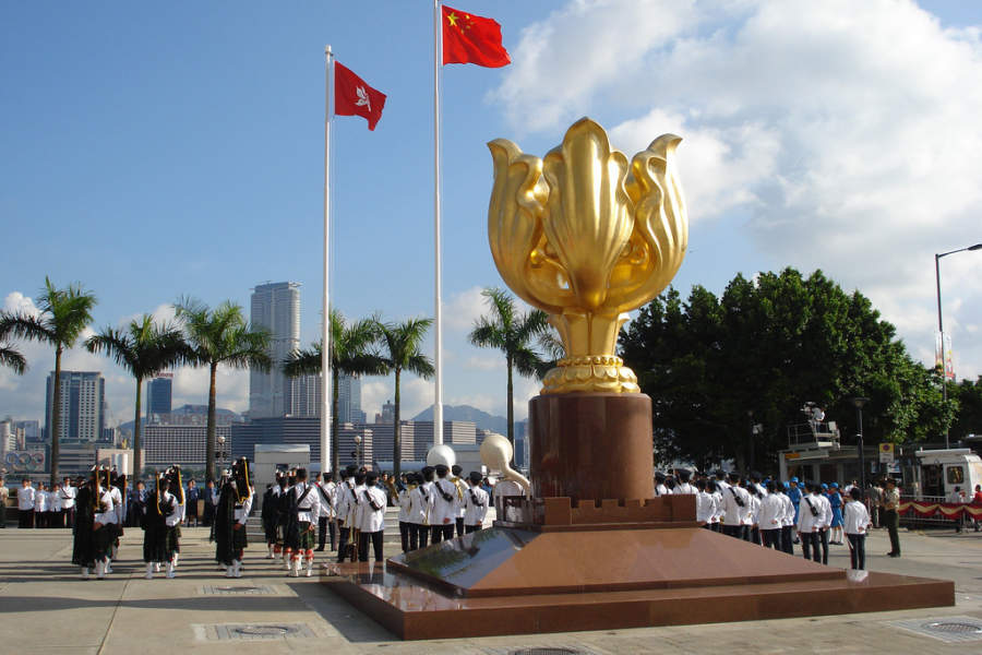 Golden Bauhinia en Hong Kong