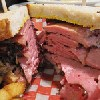 Smoked meat sandwich,Vancouver, Canada