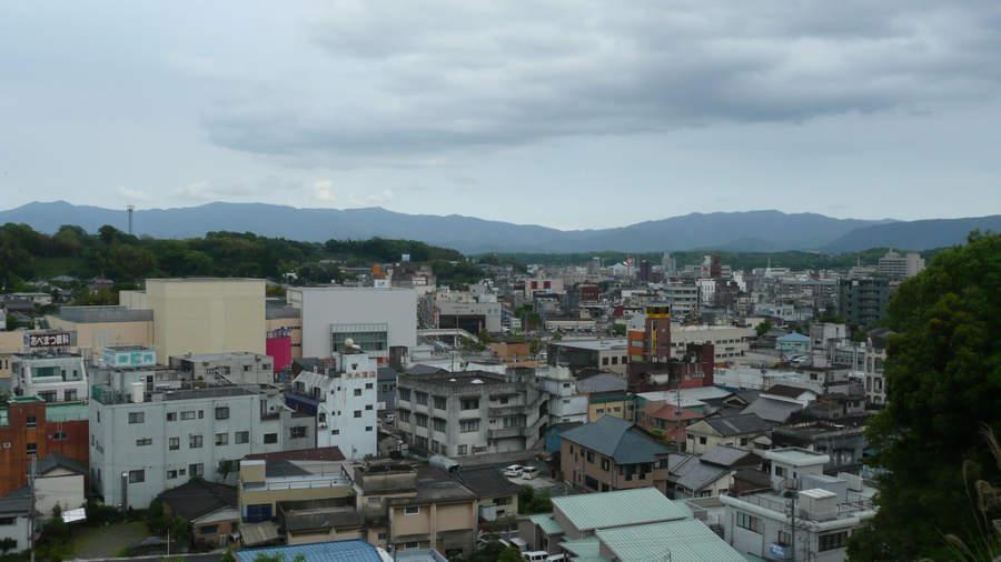 Vista panorámica de Kanoya