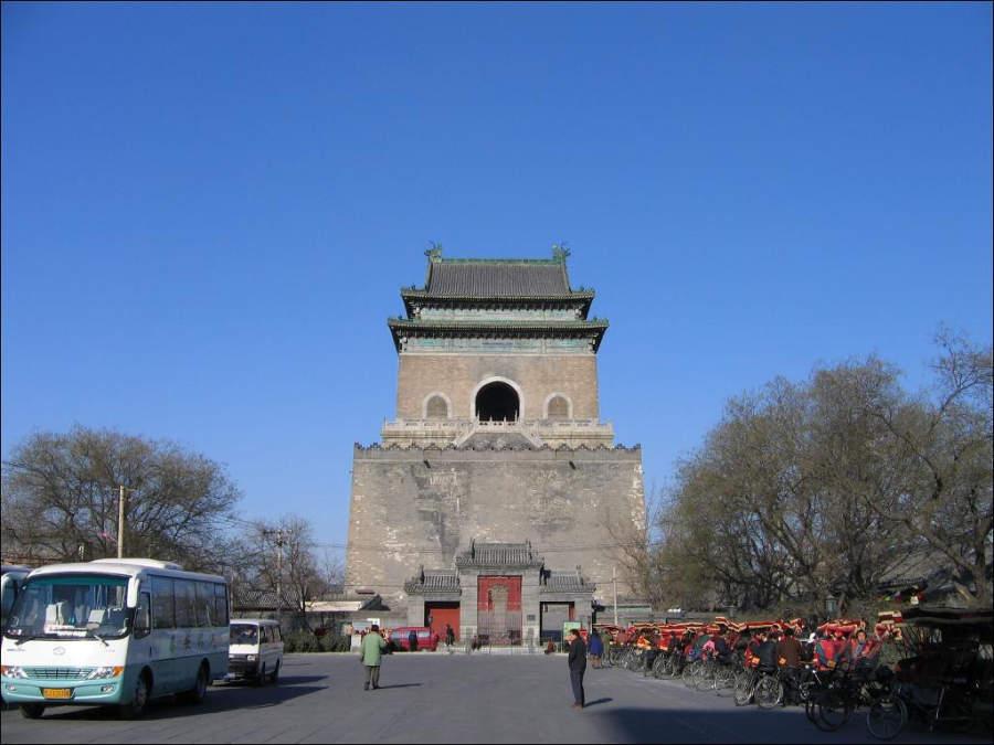Zhonglou, Torre del Campanario en Beijing