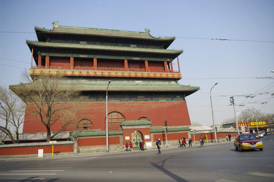 Gulou, Torre del Tambor en Beijing
