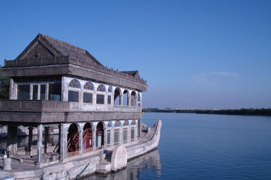 Barco de Mármol, Palacio de Verano